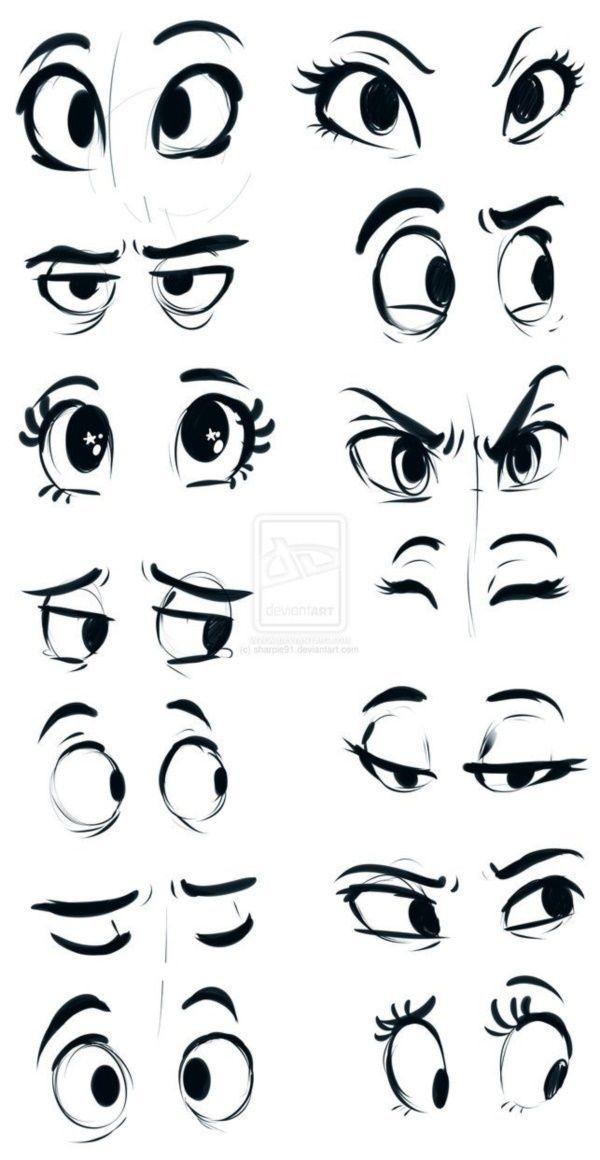impressive-ways-to-draw-an-eye-easily #characterart