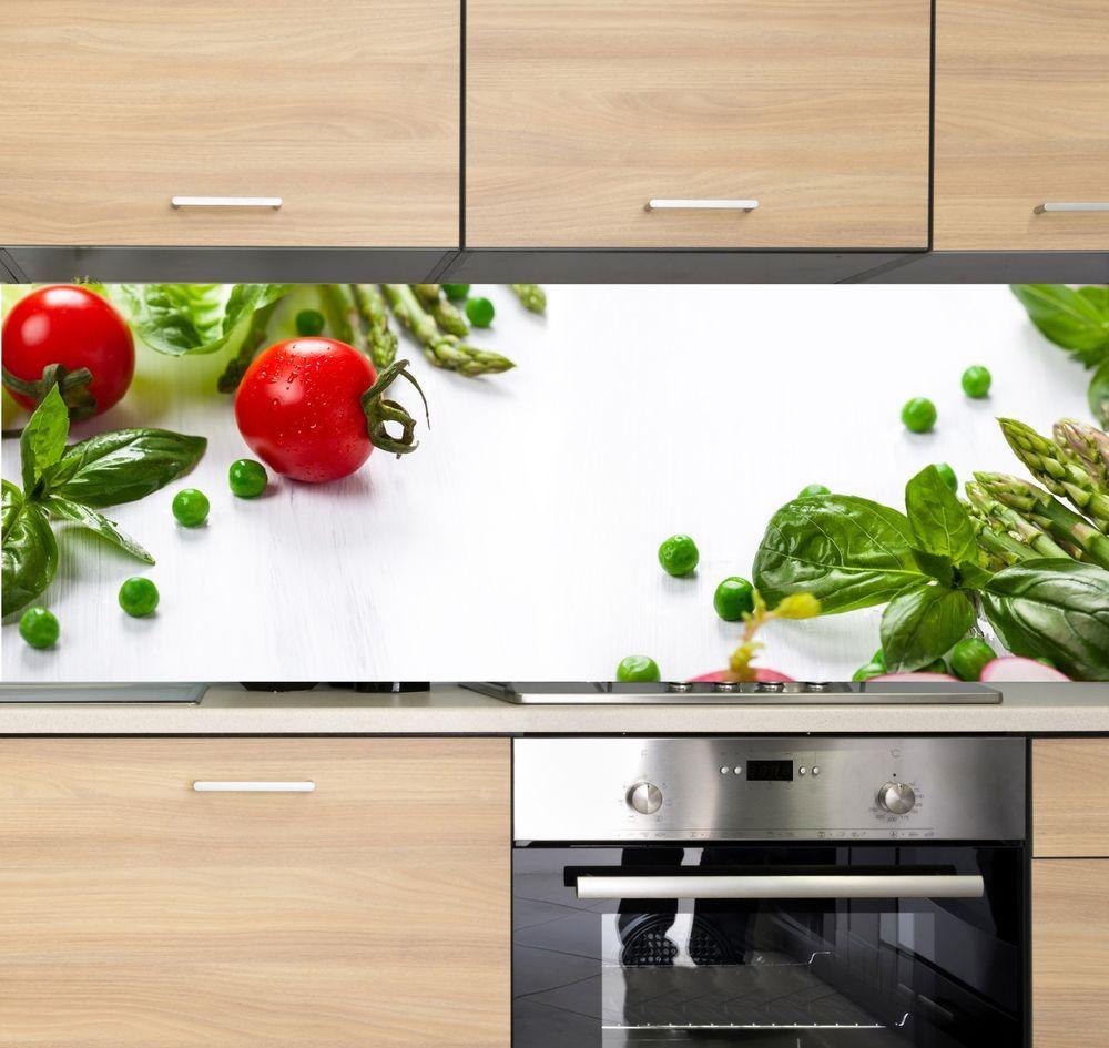 Details zu Spritzschutz Herd Küchenrückwand Fliesenspiegel Acrylglas ...
