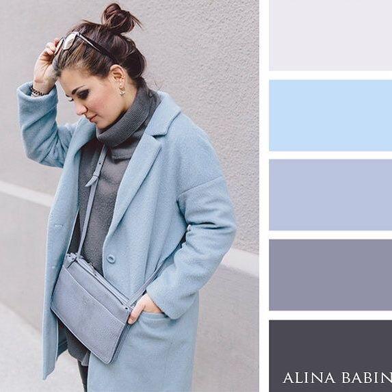 Farbkombinationen Blau Grau: Pin Von Gretel Boergeling Auf Kleidung