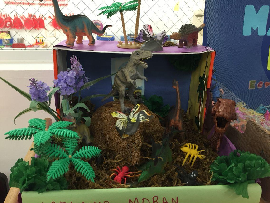 Dinosaur Habitat Project