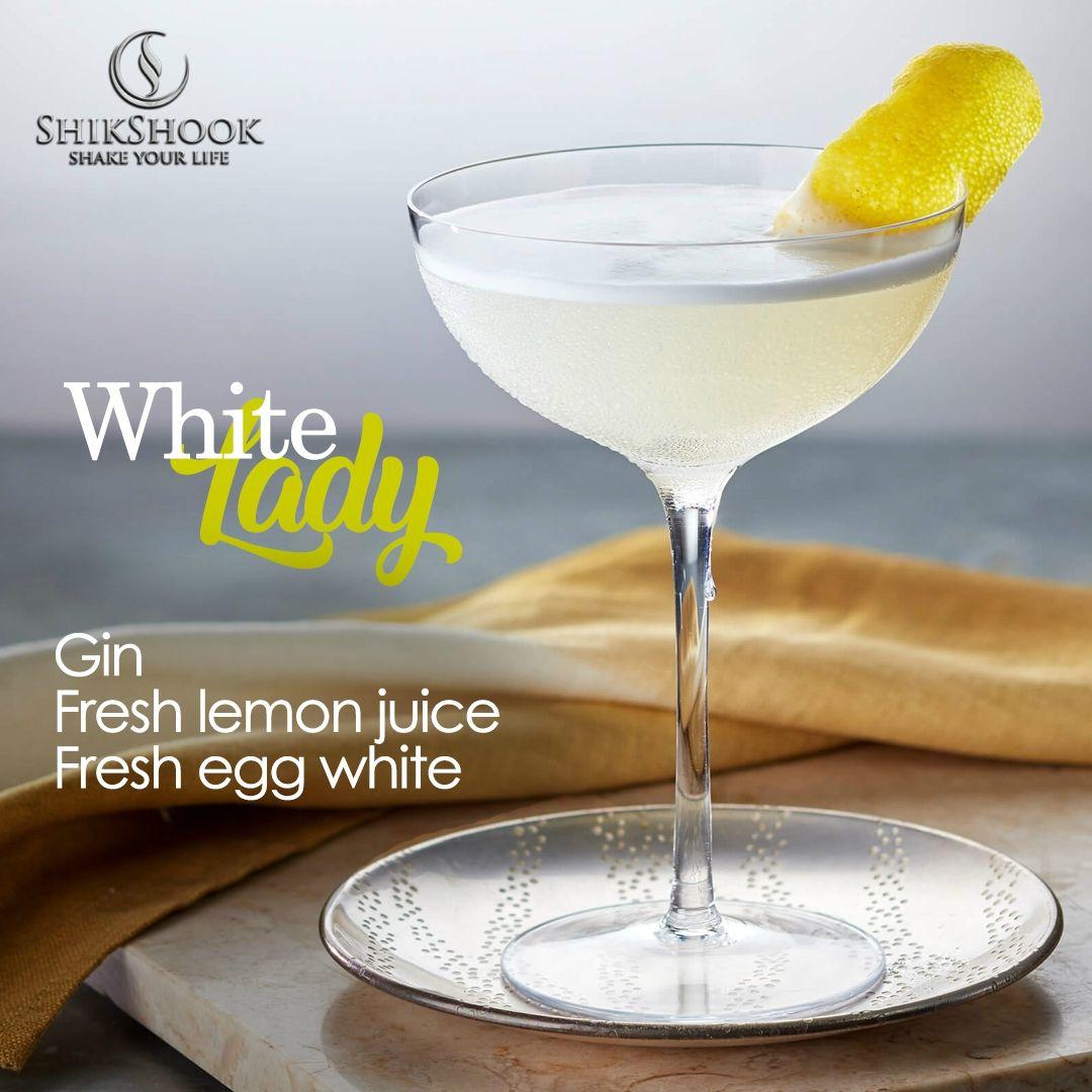 White Lady Gin Fresh Lemon Juice Fresh Egg White