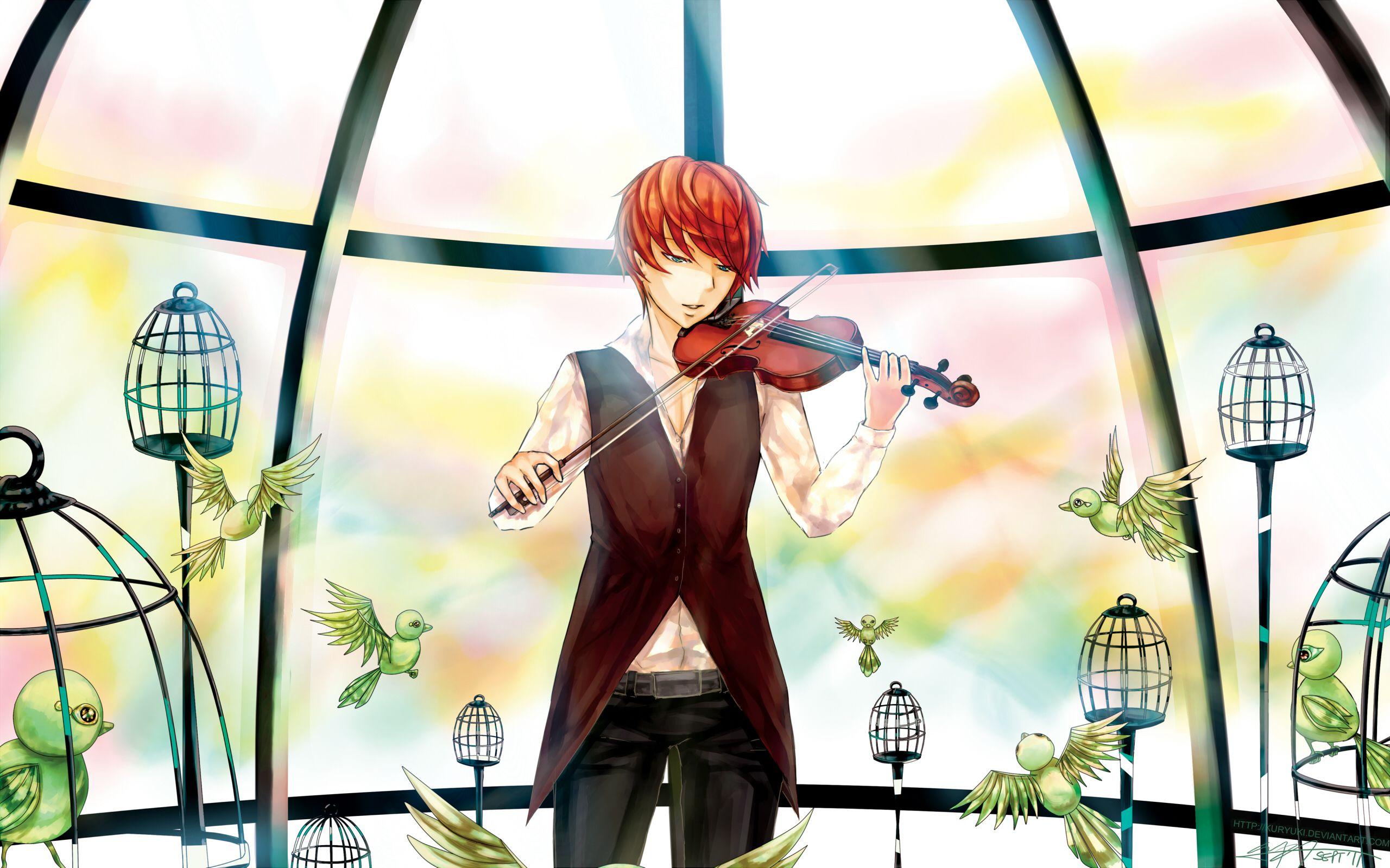 anime boy music wallpaper wwwpixsharkcom images