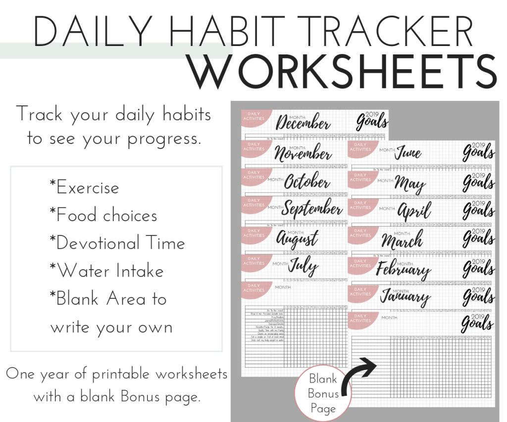 Daily Habit Tracker June December