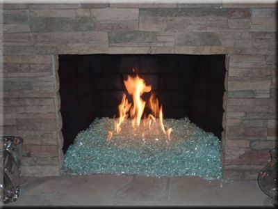 Glass fire pit and Fireplace pictures