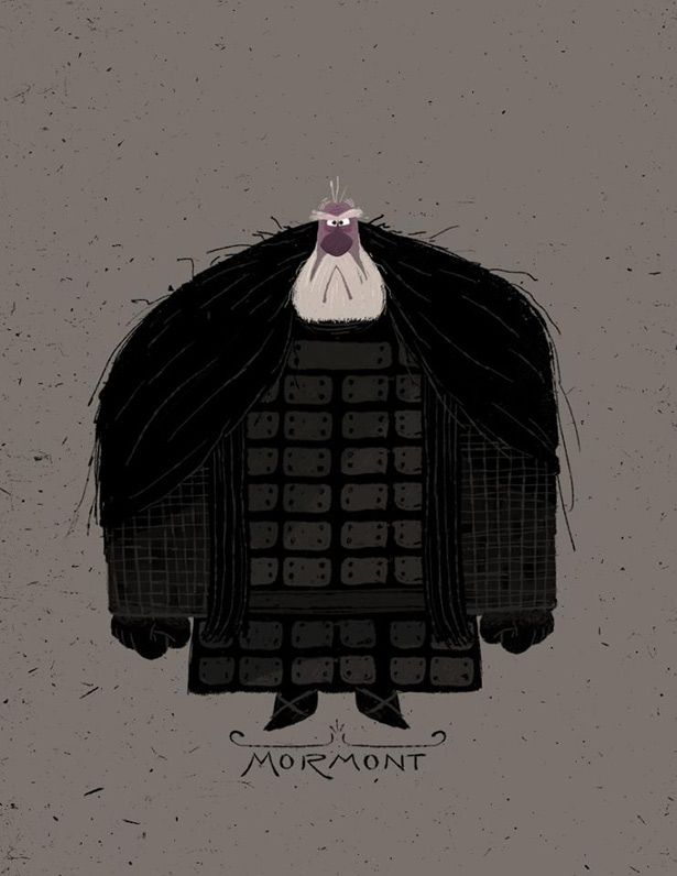 Kid-Friendly Game Of Thrones Illustrations - Design - ShortList Magazine