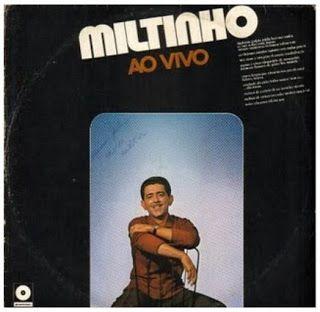 ANOS DOURADOS: IMAGENS & FATOS: IMAGENS - Disco: MILTINHO LP de 1965