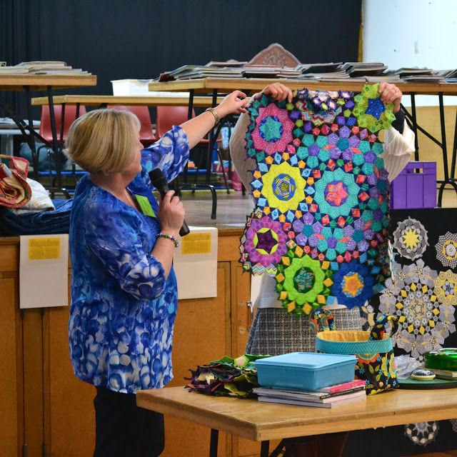 Millefiore Quilts presentation to Capital Quilters