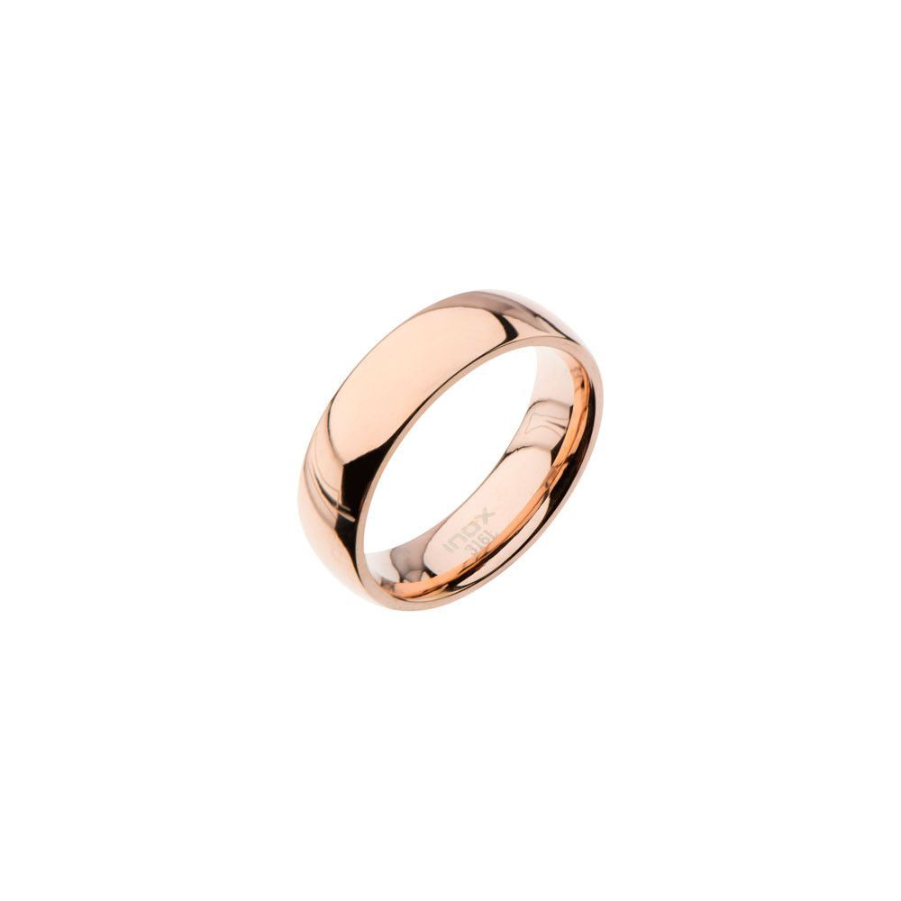 plain gold wedding bands Featuring Men s Stainless Steel Plain Rose Gold Wedding Bands with High Polish Finished Stainless Steel with high polish finished