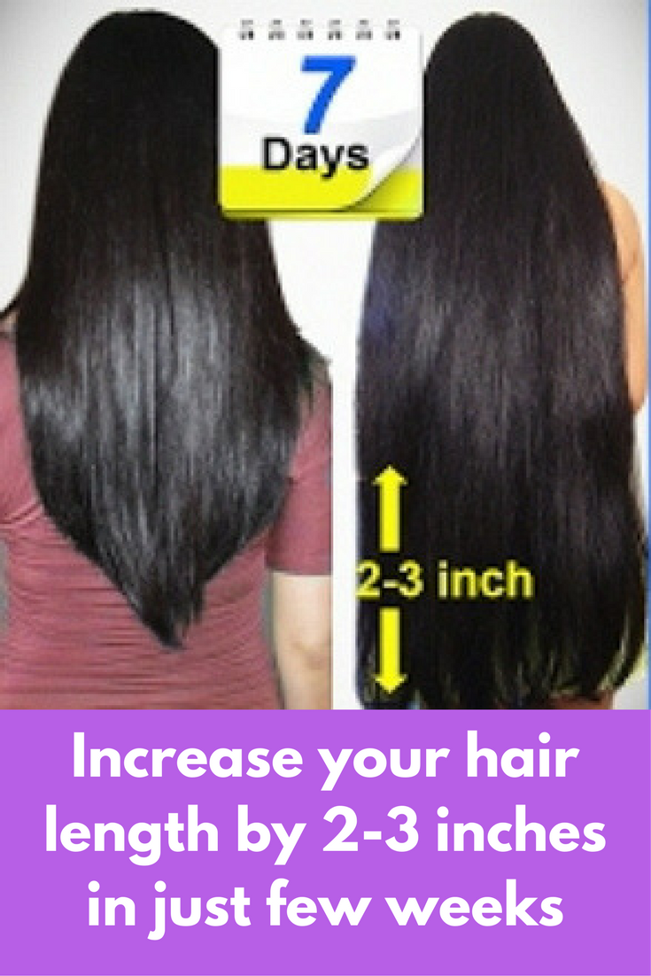 Increase your hair length by 2 3 inches in just few weeks hair increase your hair length by 2 3 inches in just few weeks every woman dream nvjuhfo Images