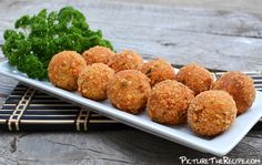 Tuna Potato Croquettes Recipe or make them with salmon or any other meat!! yum!