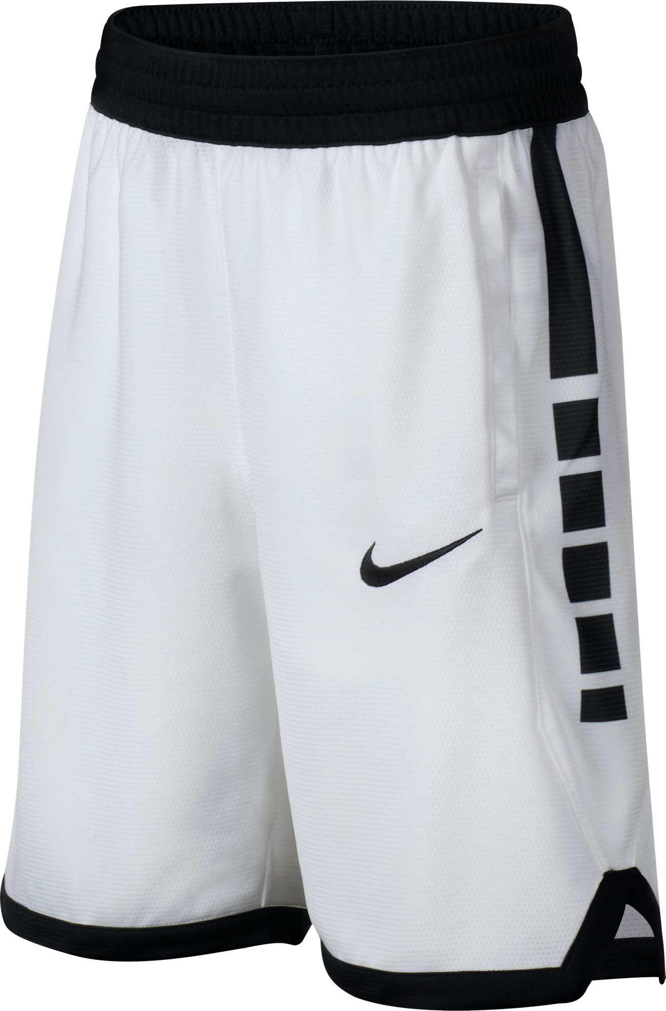 Nike Boys Dri Fit Elite Stripe Basketball Shorts Boy S Size Xs White In 2020 Basketball Shorts Girls Basketball Clothes Nike Basketball Shorts
