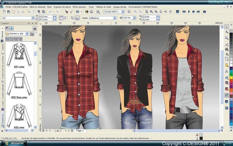 Suspended Medium Apparel Design T Shirt Design Software Fashion Design Software