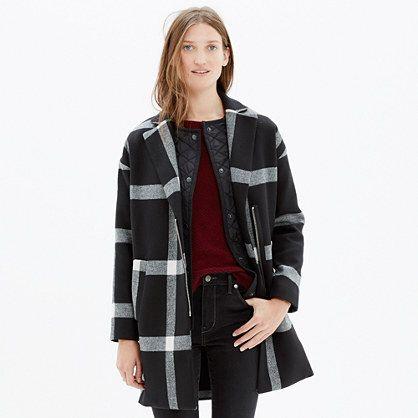 Madewell's Checkmark Coat