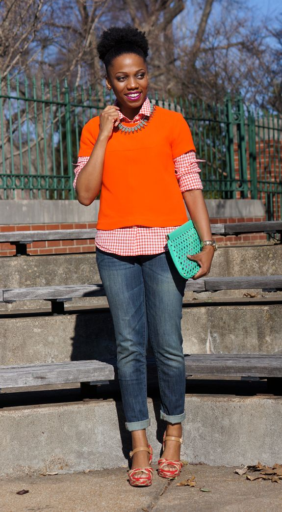 Economy of Style | St. Louis Fashion and Budget Style Blog: Orange: The Right Bright