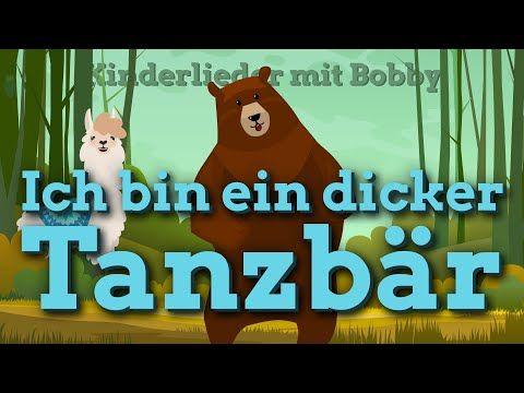 Ich bin ein dicker Tanzbär 🐻 [Das Kinderlied mit Text] - 🎵