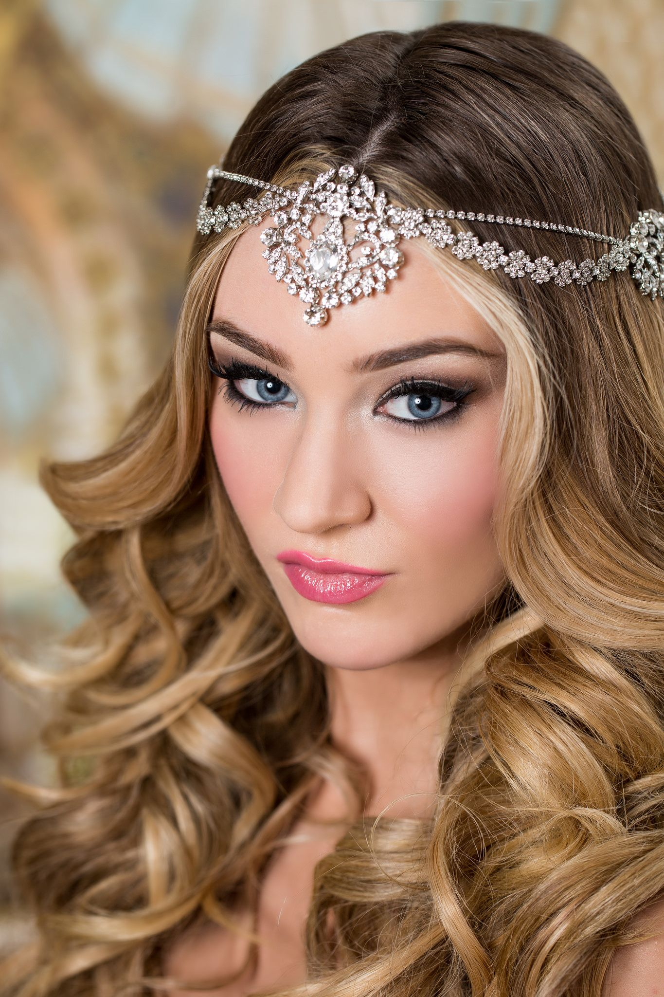 Exotic Bohemian Inspired Hair Jewelry Bridal Styles