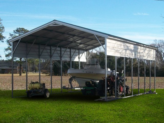 Image result for pictures of metal carports made into a