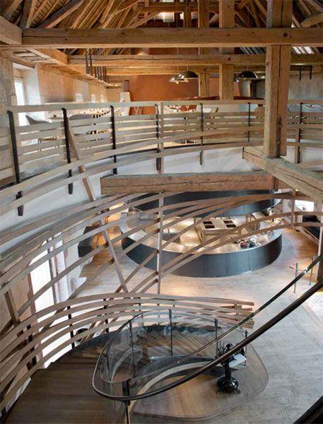 les-haras-escaleras-1 | Arquitectura | Pinterest | Restaurant bar