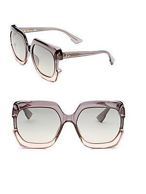 f81a58655bd9 Dior DiorGaia 58MM Square Sunglasses