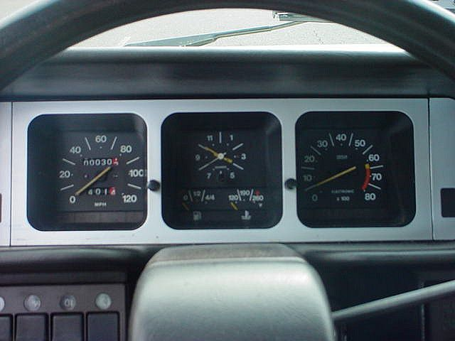 1978 Fiat 131 Superbrava Dash Auto Carros Interiores