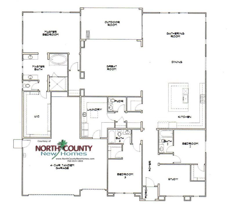 The Estates At Canyon Grove Floor Plans North County New Homes Floor Plans How To Plan New Homes