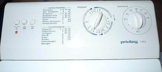 Toplader Privileg 115 S sehr gut in Lübeck/ Hamburg zu