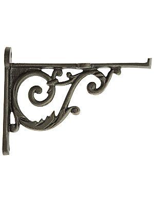 Small Cast Iron Scroll Shelf Bracket 3 3 4 X 5 Iron Shelf Brackets Decorative Metal Shelf Brackets Iron Shelf