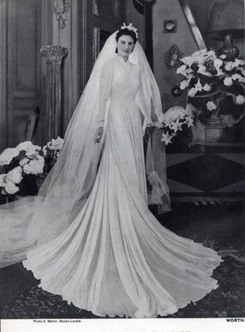 1940s wedding dresses fashion history 1930