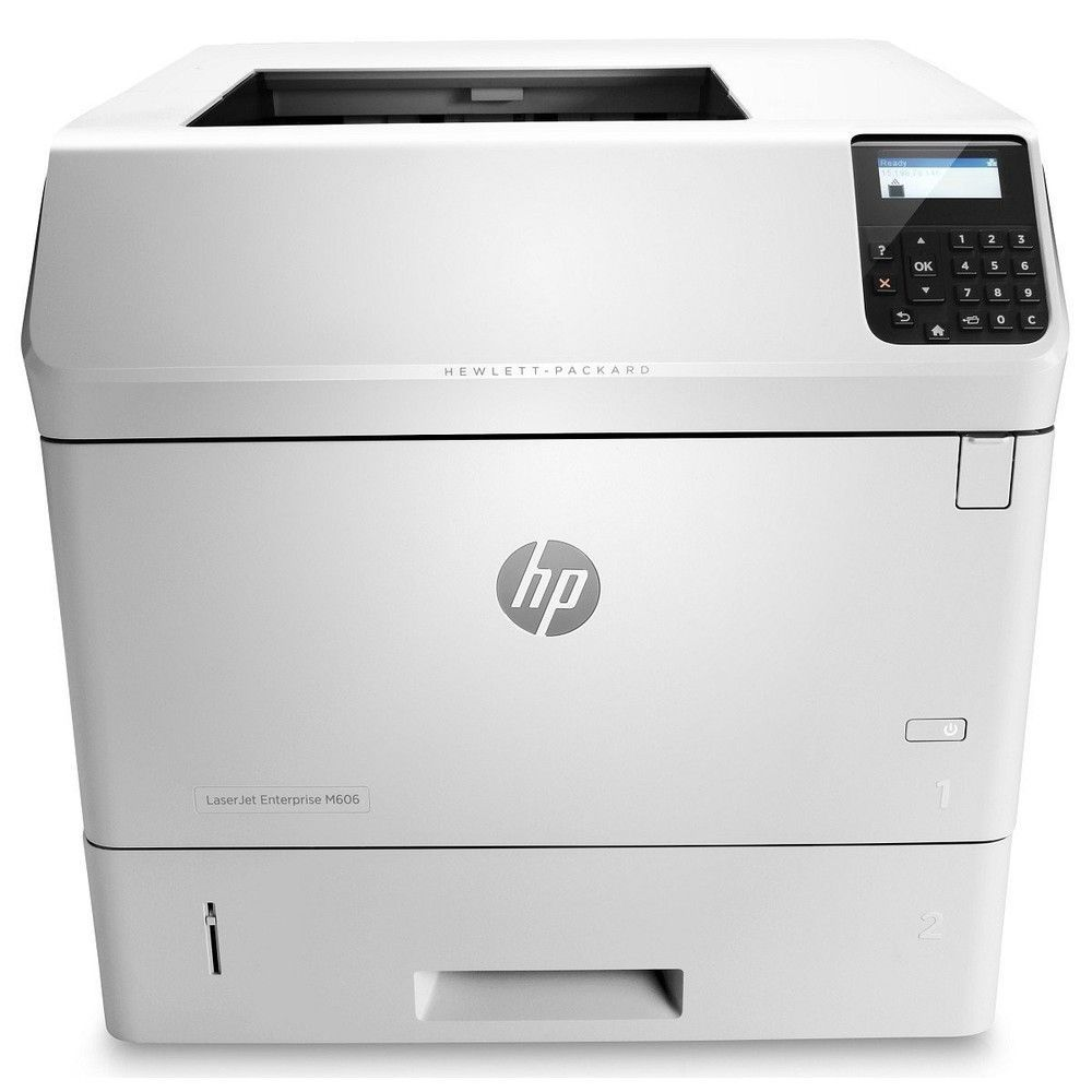 HP LaserJet M606dn Laser Monochrome Duplex Printer USB Ethernet E6B72A#BGJ (Demo 1200 Pages Used)