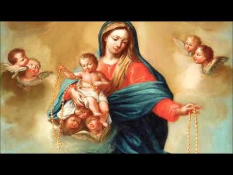 SANTO ROSARIO - DOMINGO- MISTERIOS GLORIOSOS. - YouTube