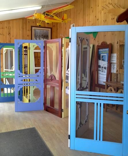 Wooden Screen Door Company Made In Maine
