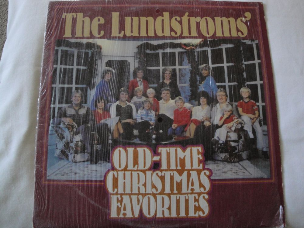 The Lundstroms' Old-Time Christmas Favorites Lp Vinyl Record Stereo Ex #Christmas