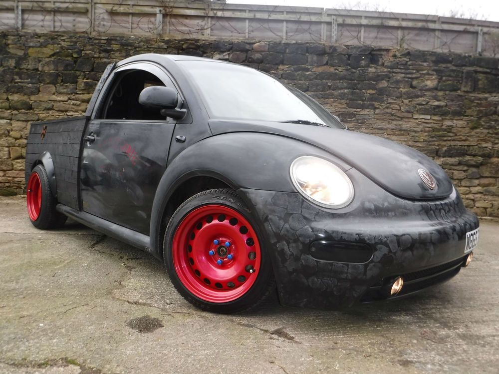 2000 Volkswagen Beetle 2 0i Truly Awesome One Off Pickup Instant Fame For 2495