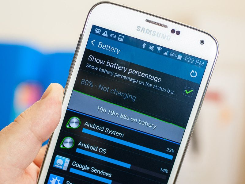 Top tips for saving battery life on the Samsung Galaxy S5 ...