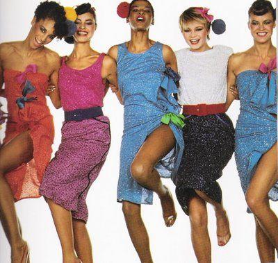 Look Anos 80 Ideias Fashion Roupas Anos 80 Moda