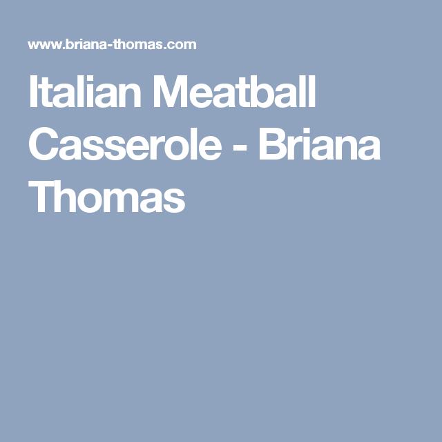 dash diet italian meatball