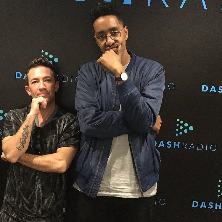 Me n' my new fave artist @oddisee up at @dashradio. (I'm short yes but he's SUPER tall)  I don't recommend much music. Really I don't.  But if you're looking for good music I mean really good music do yourself a favor and check this dude out. Was honored to have him on my podcast.  Will be airing soon... #hiphop #realshit #oddisee #oldscratchradiohour #oldscratch #djskee #davidfaustino #LA #DC #brooklyn #skee #skeetv #skeenet #consciousshit by davidfaustino