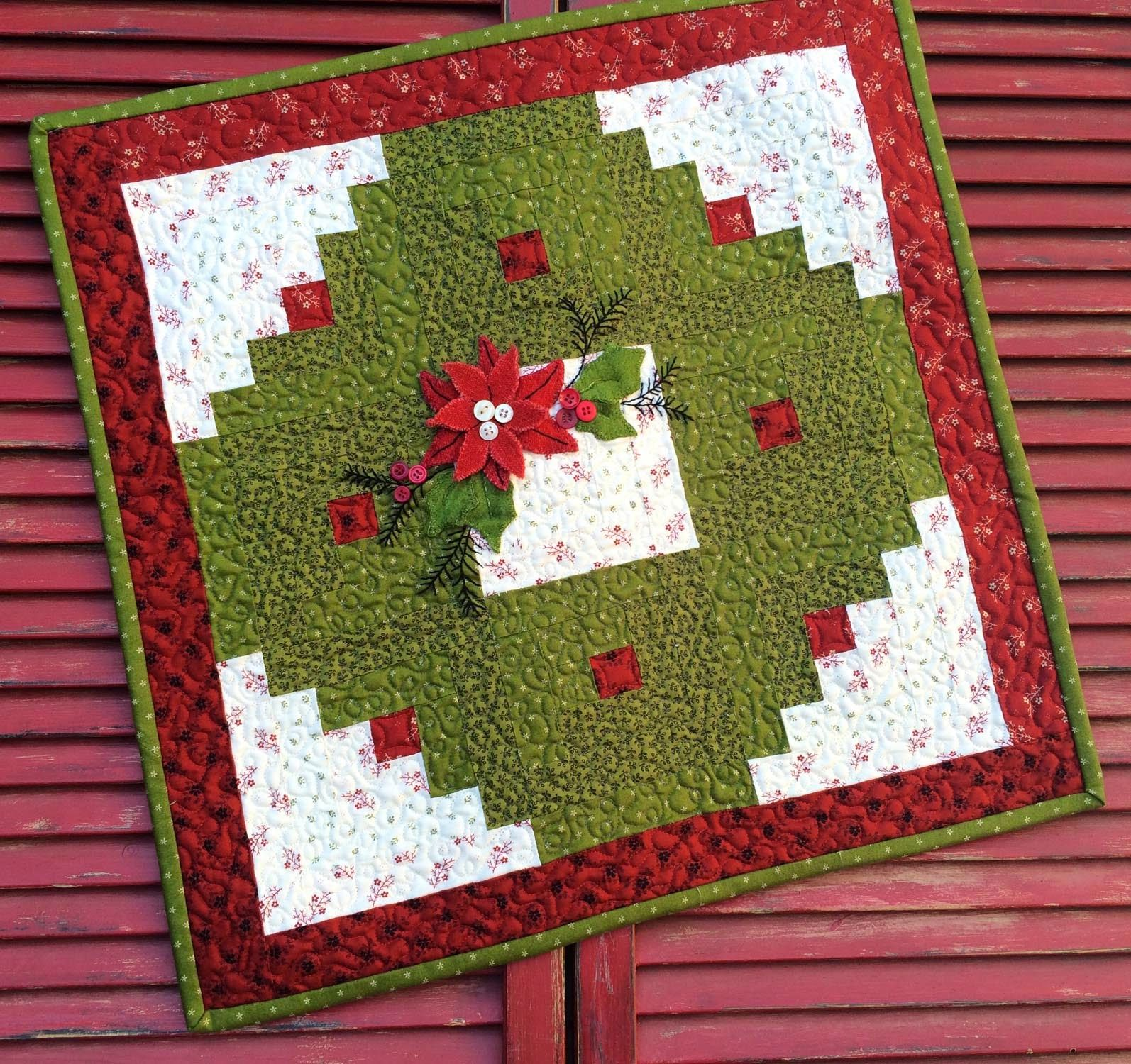 My Red Door Designs Sewing Pinterest Log Cabin Quilts Wool