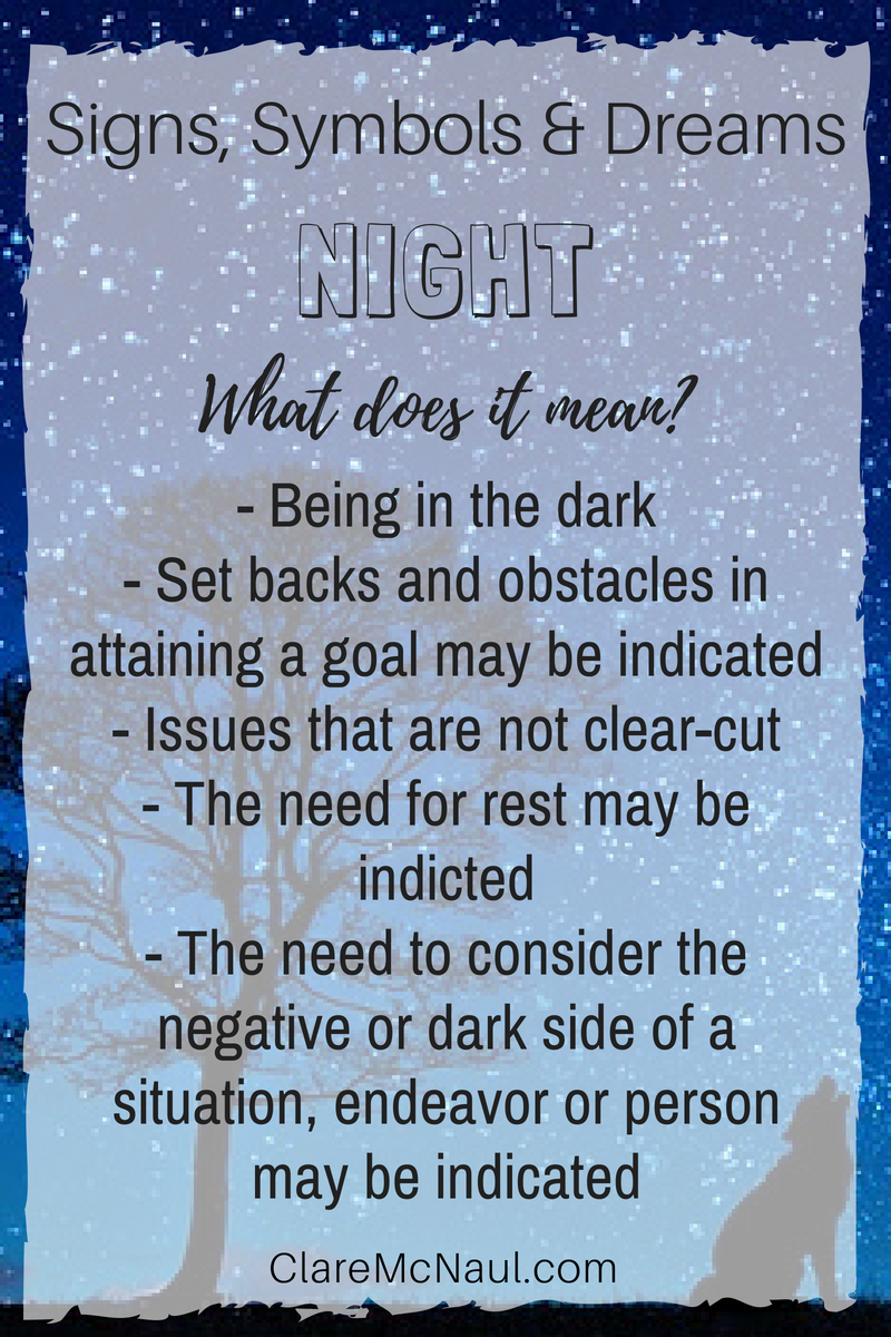 When Night Shows Up In Your Psychic Or Mediumshipship Reading And