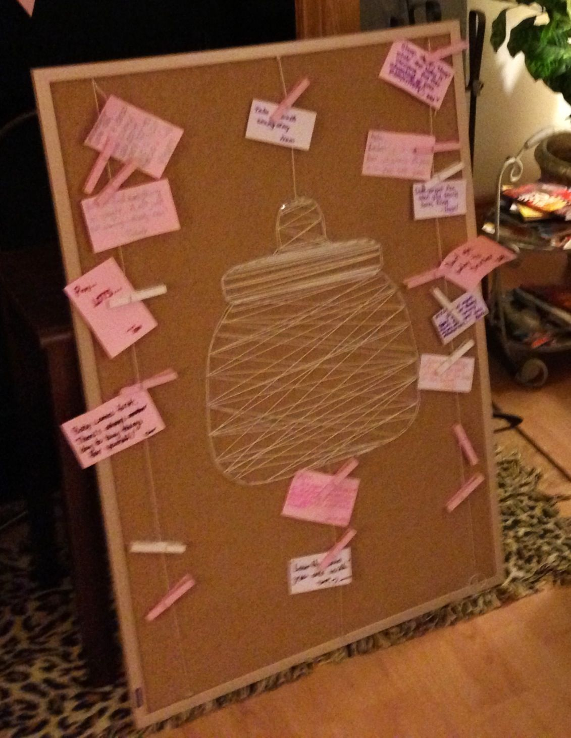 Diy Message Board Baby Shower Advices Etc  Baby Shower