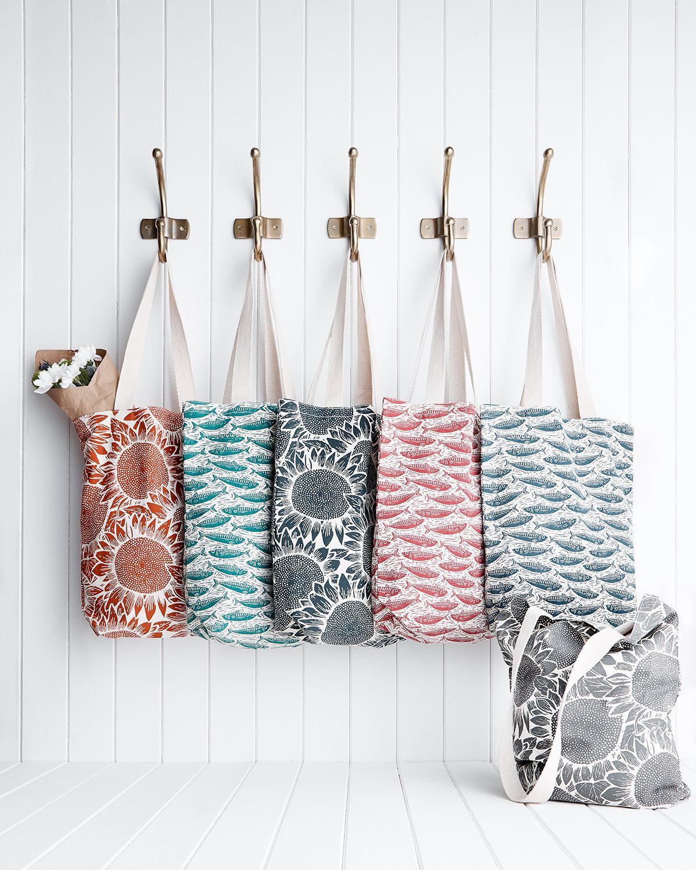 Canvas Shopper Printed bags, Cloth bags, Printed tote bags