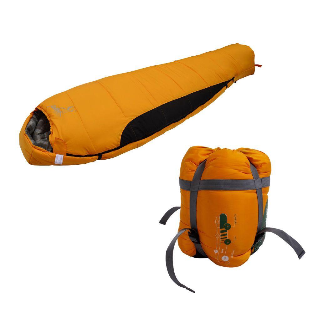Outdoor camping winter mummy shaped sleeping bag survival skills