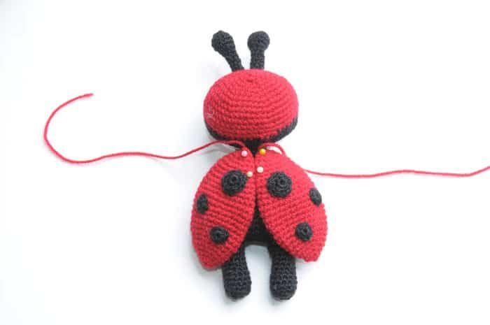 Amigurumi doll in ladybug costume | Hó Virag | Pinterest ...