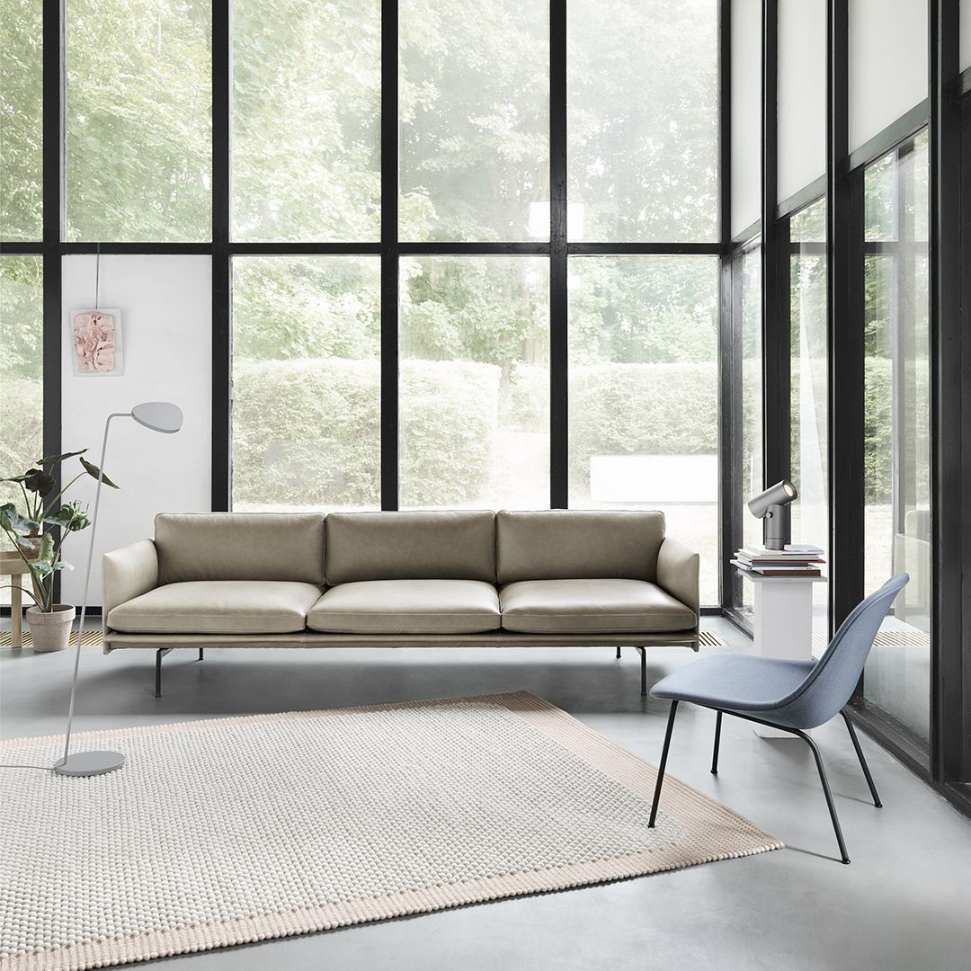 Muuto Outline Sofa Leather In 2020 Luxury Living Room Decor Luxury Living Room Home