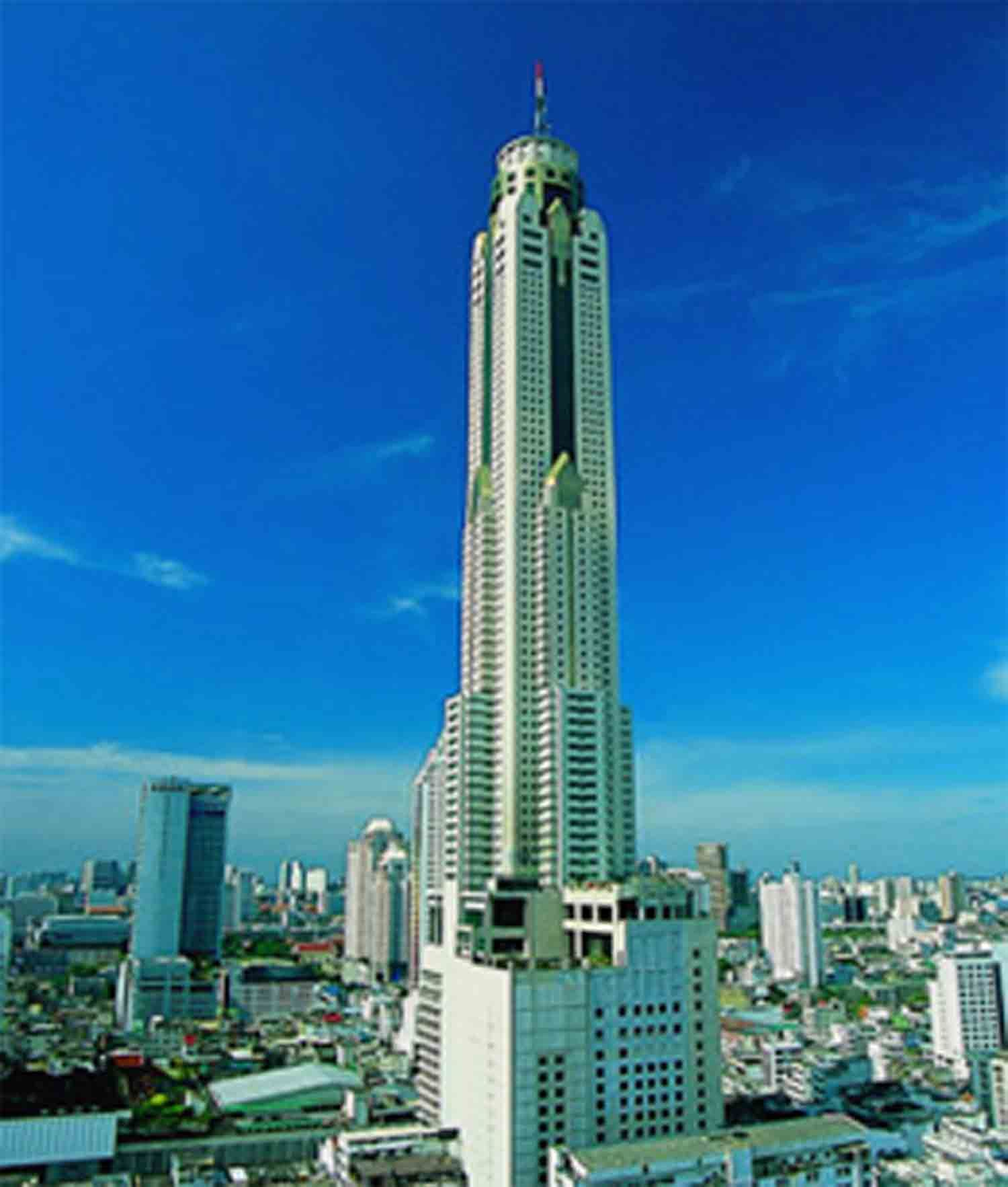 Pictures of hotels baiyoke sky hotel avec blob hotel for Hotel bangkok