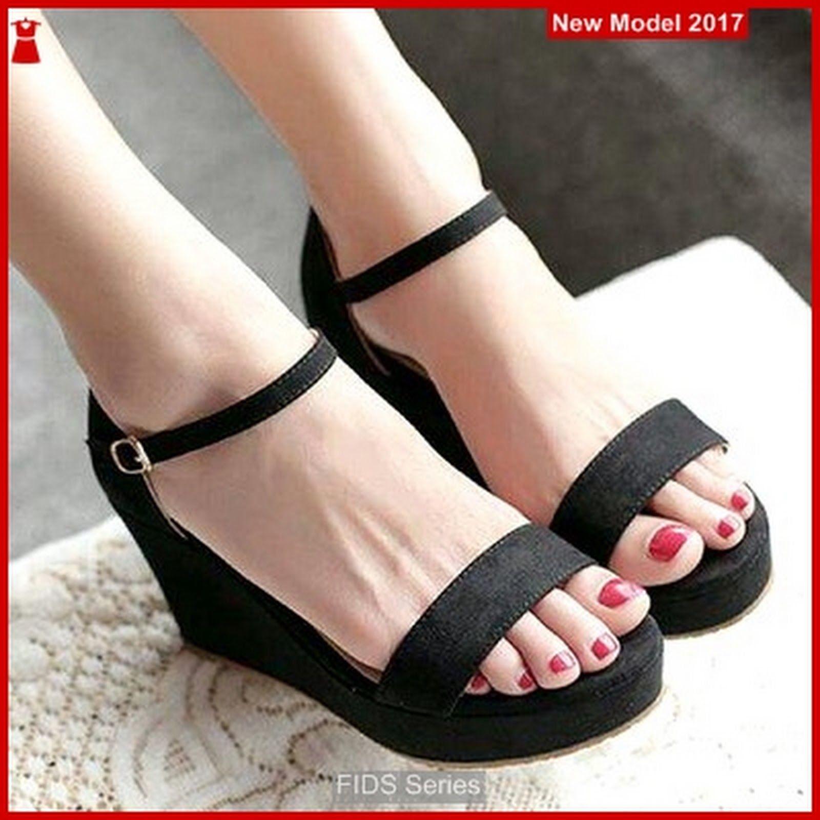 Fids042 Sepatu Wanita Sandal Wedges Cibaduyut Bmg Sepatu Wanita
