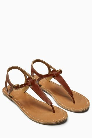 a3a2304b89776e Buy Leather Toe Thong Sandals online today at Next  Australia ...
