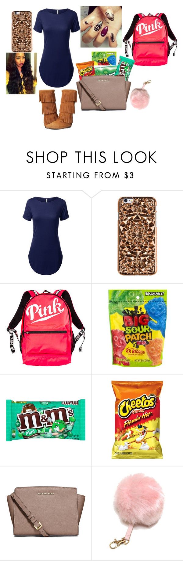 """""""Birthday Oufit"""" by damo12 on Polyvore featuring Felony Case, Victoria's Secret and MICHAEL Michael Kors"""