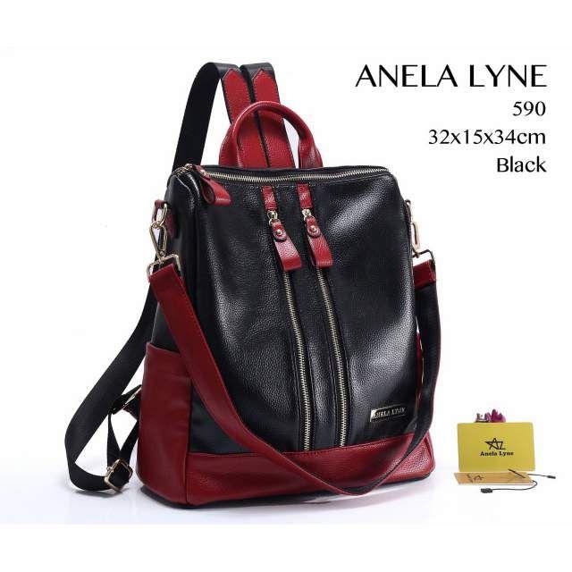 Tas Ransel Anela Lyne 590 Multi Fungsi 2018 (7) Backpack Bags 7fd75c9e08