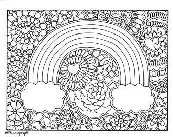 Printable Adult Coloring Book Page: OH SHIT | Etsy